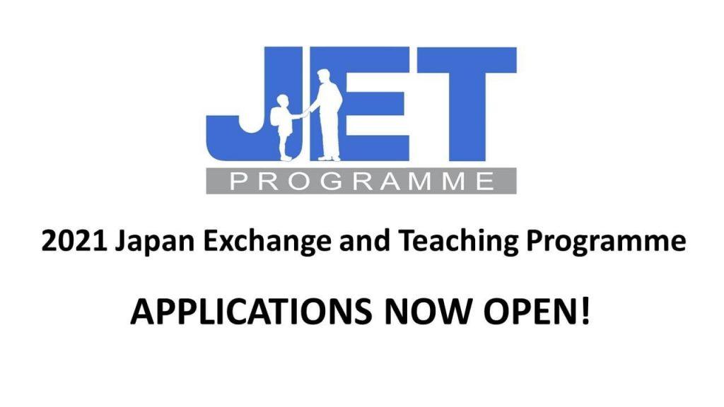2021 JET Programme applications now open